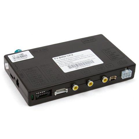 Видеоинтерфейс для BMW 3, 5, X5, X6, 7 2010– г.в.