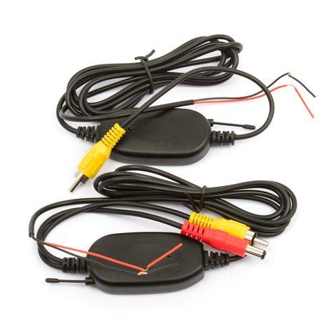 Transmisor y receptor de señal para cámara de coche
