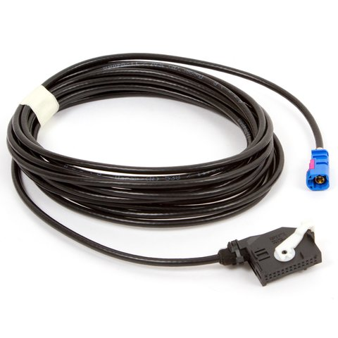RGB кабель для подключения камеры заднего вида в Volkswagen с головным устройством RNS510, RNS315, RCD510 с видеовходом