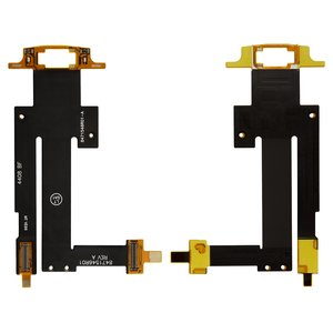 Flat Cable for Motorola EM35 Cell Phone, (for mainboard, with components)