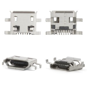 Charge Connector for LG P990, P999 Cell Phones, (7 pin, micro USB type-B)