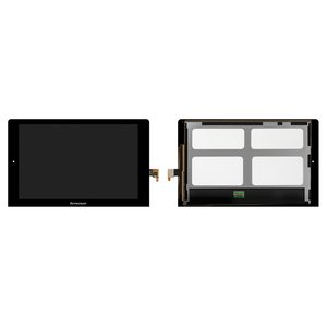 LCD for Lenovo B8000 Yoga Tablet 10 Tablet, (black, with touchscreen) #N101ICE-G61/MCF-101-1093-V3