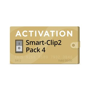 Pack 4 Activation for Smart-Clip2