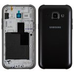 Housing compatible with Samsung J100H/DS Galaxy J1, (black)