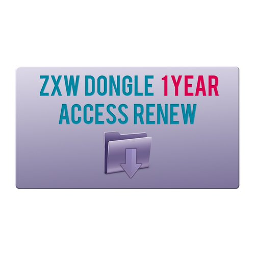 ZXW Dongle 1 Year Access Renew
