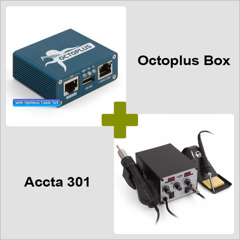 Octoplus Box + Accta 301(220V)
