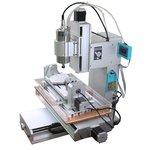 Máquina fresadora CNC de sobremesa de 5 ejes ChinaCNCzone HY-3040 (1500 W)