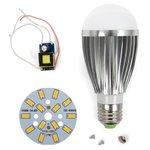 Juego de piezas para armar lámpara LED SQ-Q03 5730 E27 7 W – luz blanca cálida