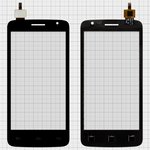 Сенсорний екран для Prestigio MultiPhone 3501 Duo, чорний, (145*72мм)