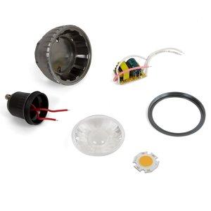 Комплект для сборки светодиодной лампы TN-A71 3 Вт (теплый белый, GU10)