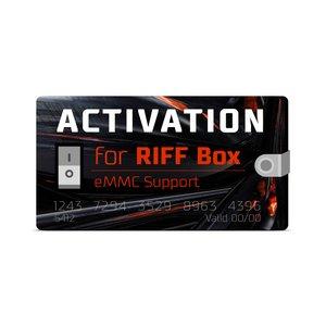 Активация поддержки eMMC для RIFF Box