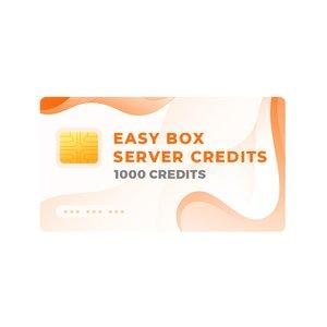 Серверные кредиты Easy-Box (пак на 1000 кредитов)