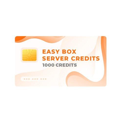 Серверні кредити Easy-Box (пак на 1000 кредитів)
