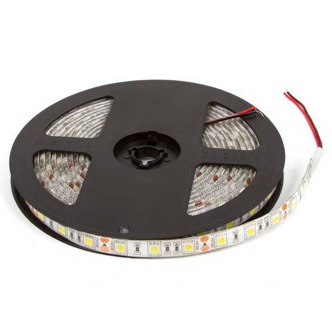 Світлодіодна стрічка SMD5050 над'яскрава, холодний білий, 300 світлодіодів, 12 В DC, 5 м, IP65