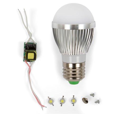 Комплект для збирання світлодіодної лампи SQ Q01 3 Вт холодний білий, E27