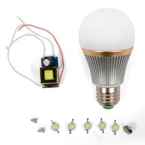 Комплект для збирання світлодіодної лампи SQ-Q22 5 Вт (теплий білий, E27)