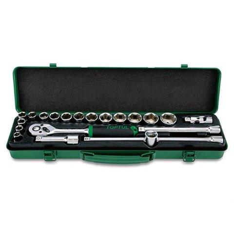 Набір інструментів у кейсі TOPTUL GCAD2102