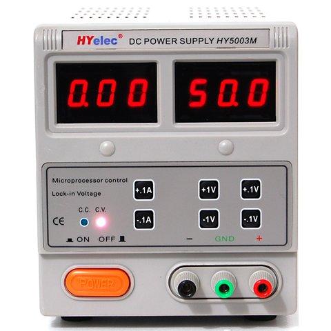 Лабораторний блок живлення HYelec HY5003M