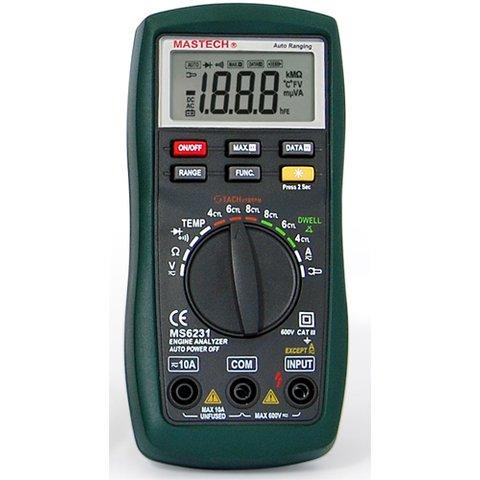 Цифровий автомобільний тестер MASTECH MS6231