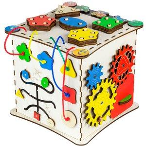 Бизиборд GoodPlay Развивающий кубик (25×25×25)