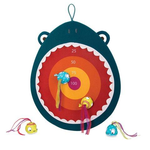 Іграшка для розвитку Battat Голодна акула мішень